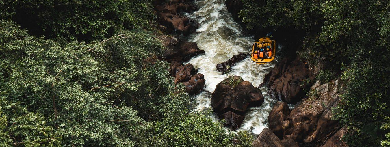 suv rafting