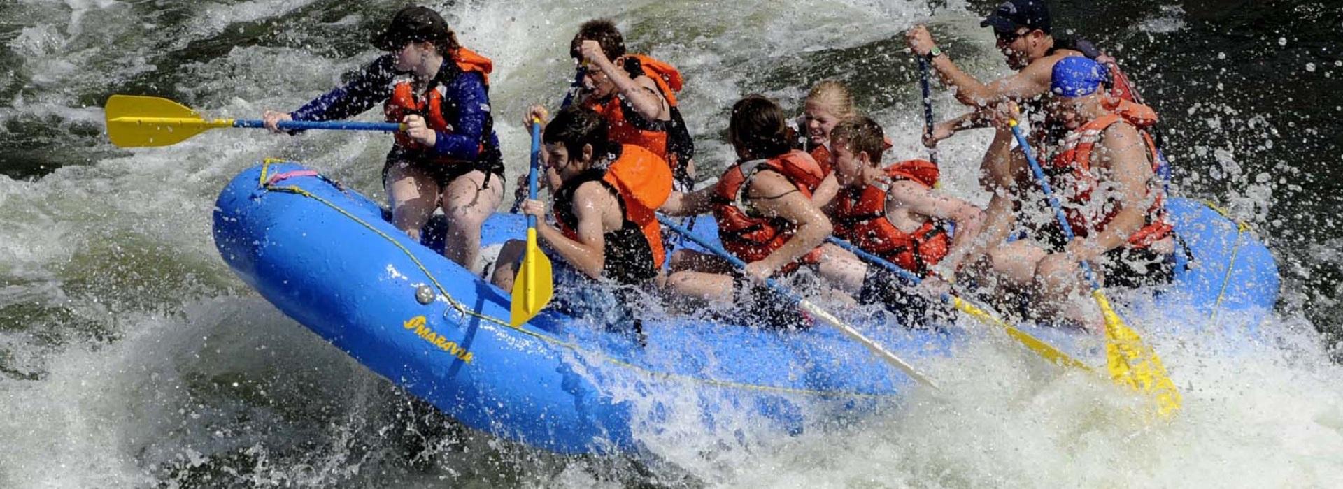Rafting Grand Kamp Tara